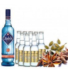 PACK GIN CITADELLE Y TÓNICAS FEVER TREE