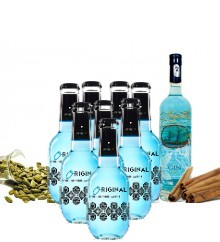 PACK GIN MAGELLAN AND ORIGINAL BLUE TONICS