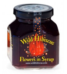 HIBISCUS FLOWERS IN SYRUP